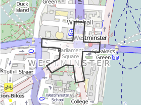 Map of Parliament Square