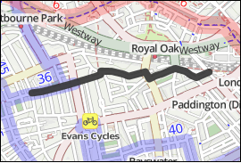 Map of QW7 West